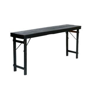 Bazar Bizar Taitettava pöytä - Musta - 175 cm