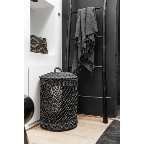 The Laundry Basket - Black - SET3