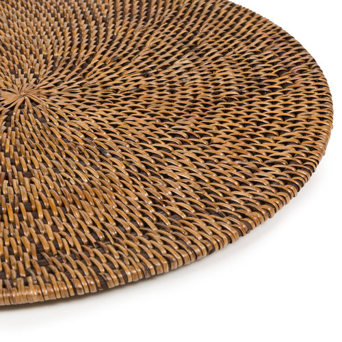 Bazar Bizar The Colonial Placemat - Natural Brown
