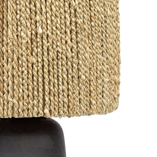 Chalki Pöytävalaisin - Musta Natural - 47 cm
