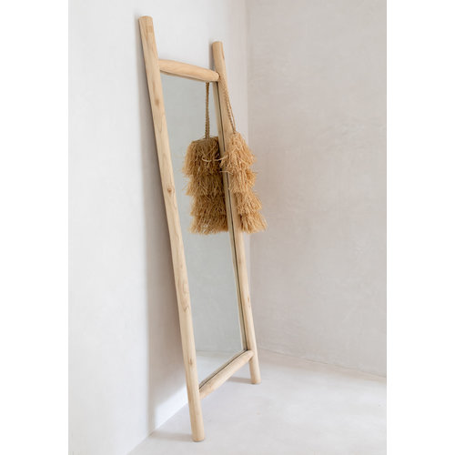 Bazar Bizar The Island Dressing Room Mirror - Natural