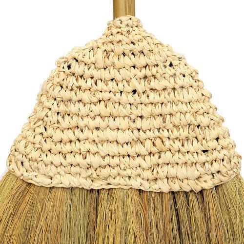 The Raffia Broom - Natural
