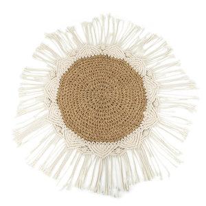 Bazar Bizar Boho Pöytäliina - Natural Valkoinen - 40 cm