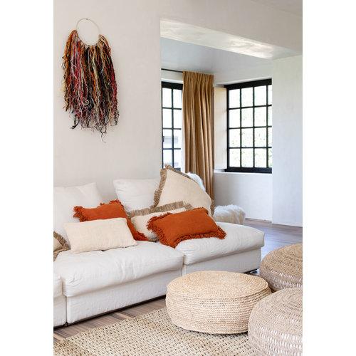 Bazar Bizar The Saint Tropez Cushion cover - Natural White - L