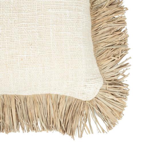 The Saint Tropez Cushion cover Natural White - M