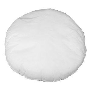 Bazar Bizar Sisätyyny Pyöreä - Valkoinen - 60 x 60 cm
