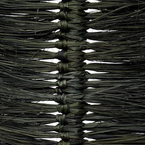 Bazar Bizar The Raffia Palmeira - Black