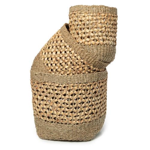 Bazar Bizar The Halong Bay Basket - Natural - Set of 3