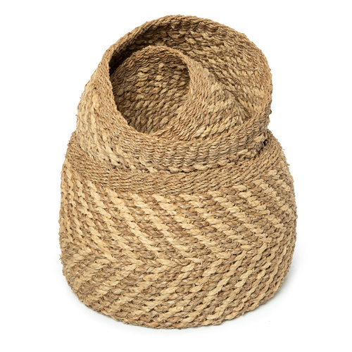Bazar Bizar The Ky Co Basket - Natural - Set of 3
