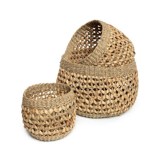 Bazar Bizar The Nha Trang Basket - Natural - Set of 3