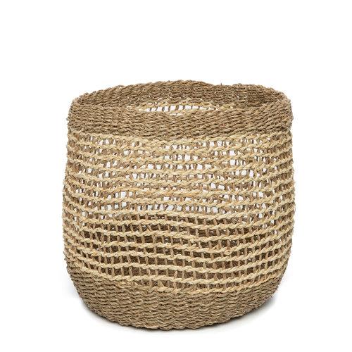 Bazar Bizar The Tam Hai Basket - Natural - Set of 3
