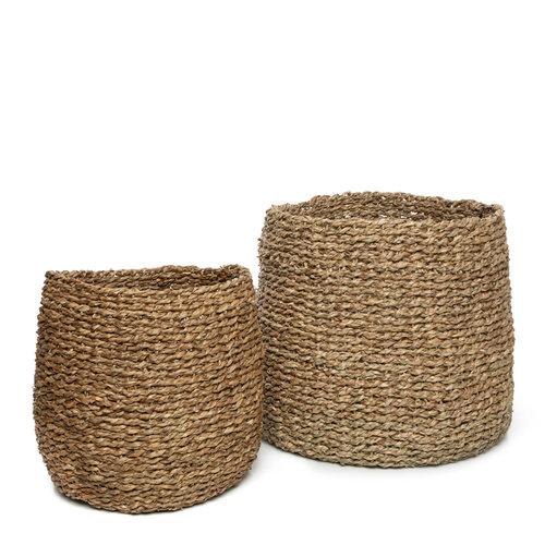 Bazar Bizar The Hong Chong Basket - Natural - Set of 3