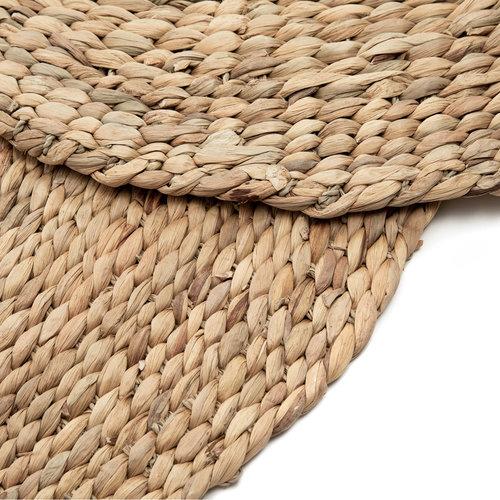 Bazar Bizar The Water Hyacinth Carpet - Natural - 150