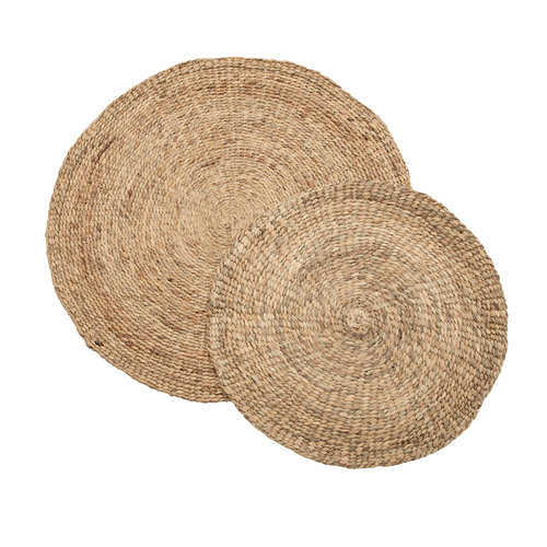 Bazar Bizar The Water Hyacinth Carpet - Natural - 200