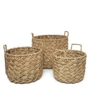 Bazar Bizar The Hoi An Basket - Natural - Set of 3