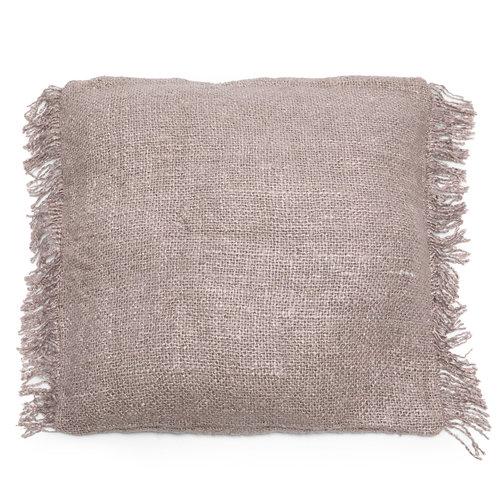 Bazar Bizar The Oh My Gee Cushion Cover - Pearl Grey - 60x60