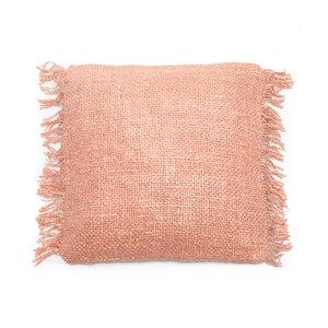 Bazar Bizar The Oh My Gee Cushion Cover - Salmon Pink - 40x40