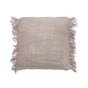 Bazar Bizar The Oh My Gee Cushion Cover - Pearl Grey - 40x40