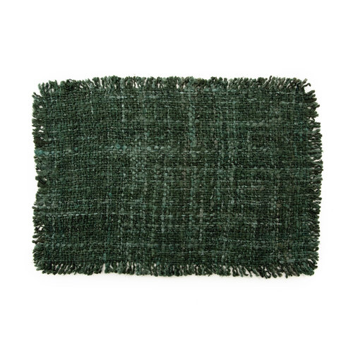 Bazar Bizar The Oh My Gee Placemat - Forest Green - Set of 4