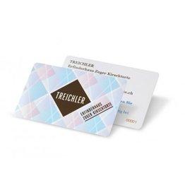 Treichler Geschenkkarte im Wert von CHF 50.00