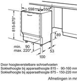 Siemens Inbouw vaatwasser SE64M364EU