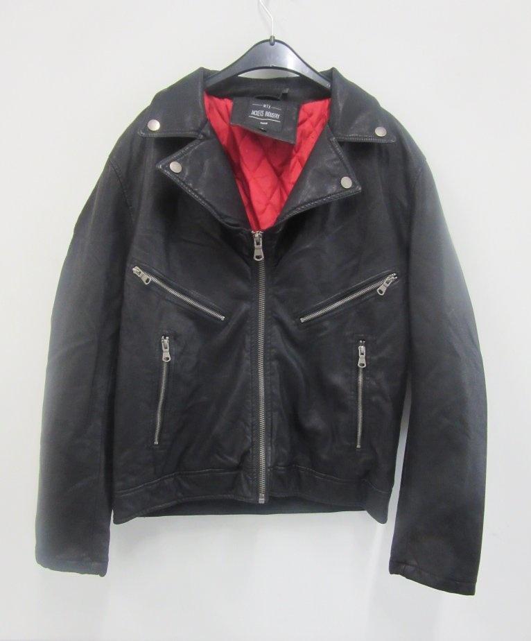 Trenton Black leather jacket
