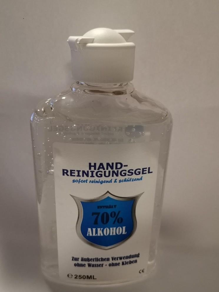 Handgel desinfecterend 70% 250ml