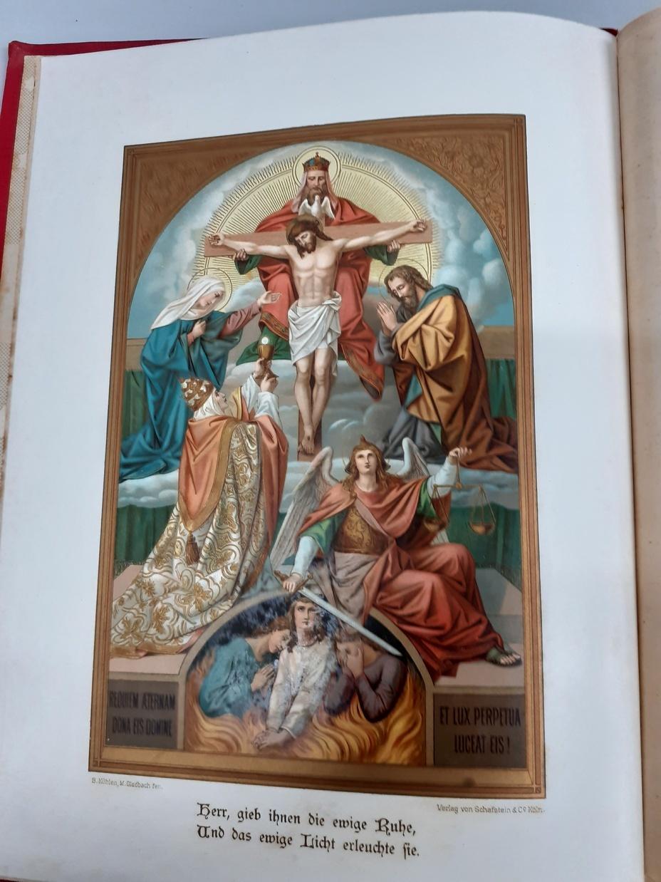 Der Pilgerstab des katholischen Christen.