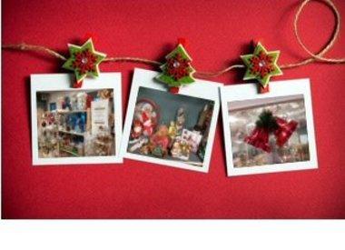 Kerstshop foto's