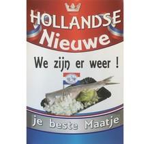 Poster Hollandse Nieuwe (Je beste maatje)