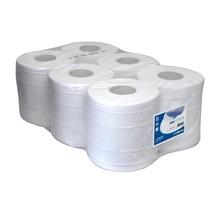 Handdoekrollen cellulose 1-lgs. pak a 6 rol (6)