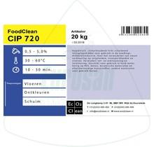 FoodClean schuimreiniger CIP 720