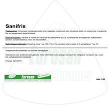 Sanifris 10ltr