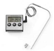 Braadthermometer/timer  0-300 graden