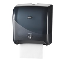 Euro matic Pearl BLACK handdoekautomaat Tear & Go