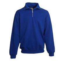 Polosweater  Met Rits en boord