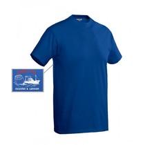 T-shirt bedrukt 'onze vis'