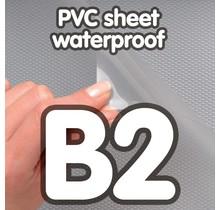 Transparant PVC sheet 0,5 mm Anti Reflex