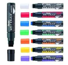 Pentel krijtstift ,WET - Zwart