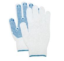 Handschoenen Rondgebreide pol/kat handschoen met PVC nop