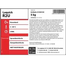 Laquick R2U Desinfectie