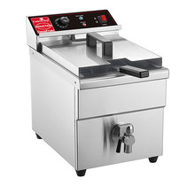 Friteuse Rvs Inductie 8 Ltr