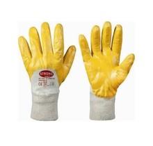 Handschoenen Strong Yellowstar NBR / katoen  M-Light