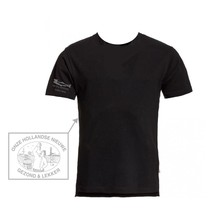 T-shirt met grijs logo Holl.Nieuwe