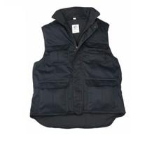 Bodywarmer polyester/katoen - Navy