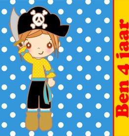 Bellenblaas Piraat