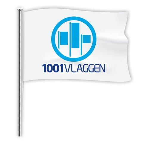 Mastvlag met eigen logo/ontwerp