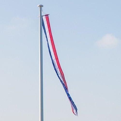 Nederlandse wimpel marineblauw in diverse afmetingen zwaluwstaart