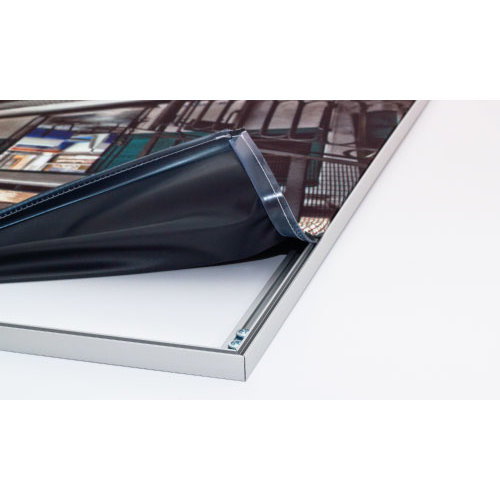 Spandoek met binnenframe / textielframe incl. frame
