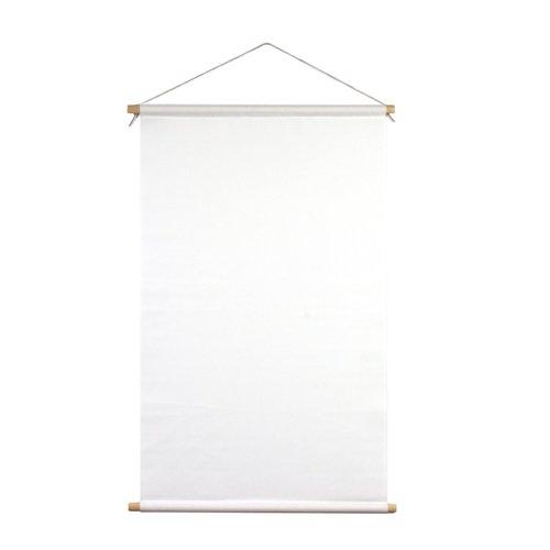 Indoorbanier (textielposter) 120 cm incl. stokken van beukenhout